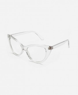 Sia Cat Eyes - Transparent Frame